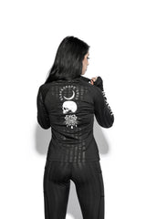 Spirits Of The Dead Black Stripe - Active Jacket