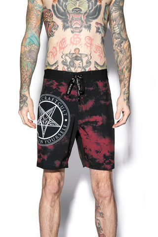Believe In Yourself - Blood Moon Board Shorts