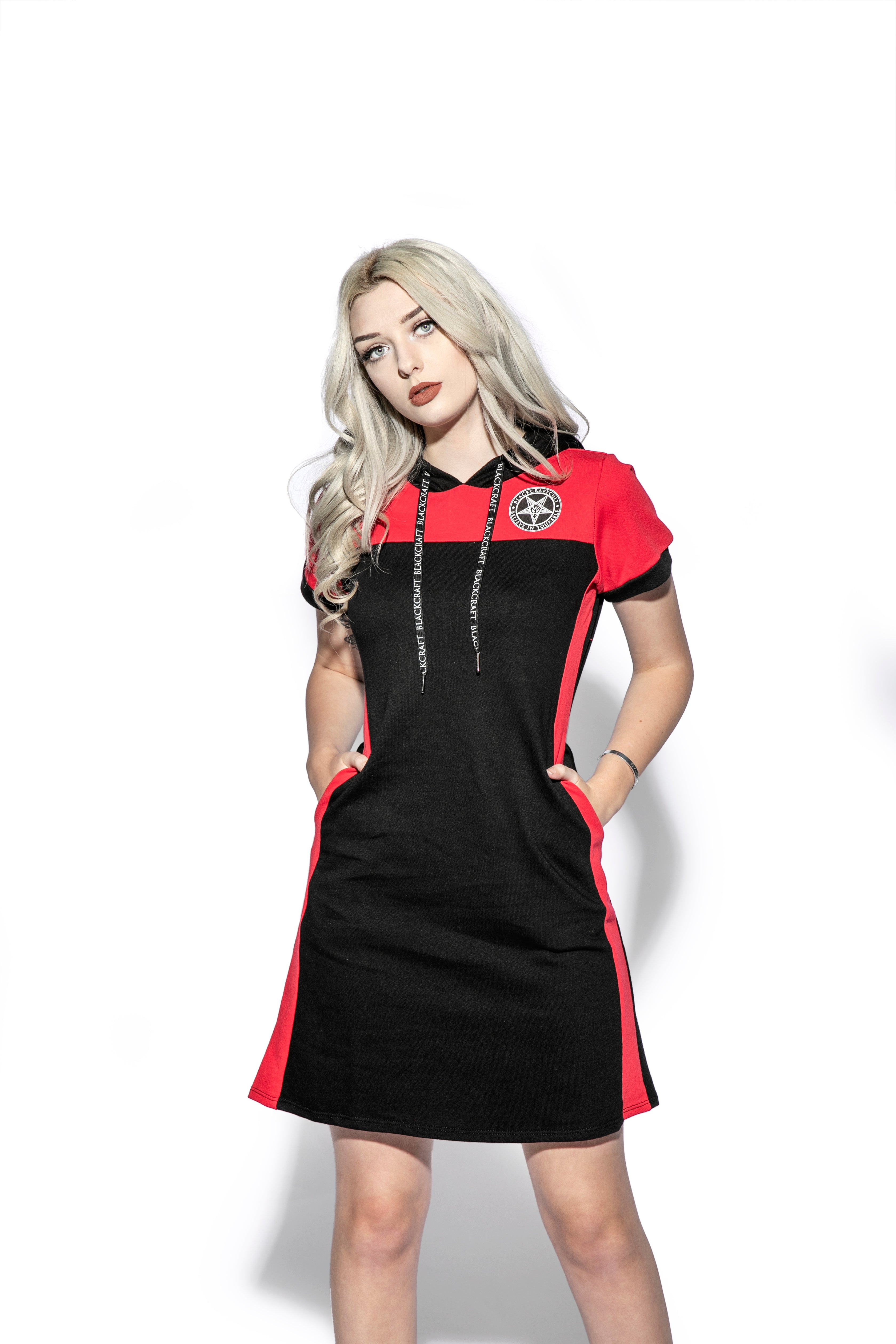 Believe In Yourself  - Color Block Hoodie Dress