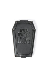 Never Trust - Coffin Cardholder Wallet