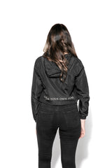 Blackcraft - Women's Cropped Windbreaker