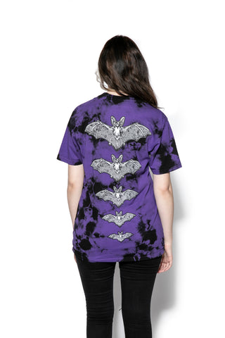Release The Bats - Purple Lightning Dye