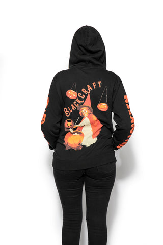 Little Witch - Zip Up Hoodie