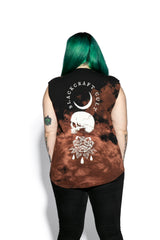 Spirits Of The Dead Bleach Wash- Unisex Sleeveless Tall Tee