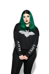 Batcraft - Women's Cropped Crewneck