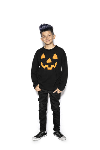 Black Pumpkin - Youth Jersey Sweater