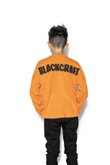 Orange Pumpkin - Youth Jersey Sweater