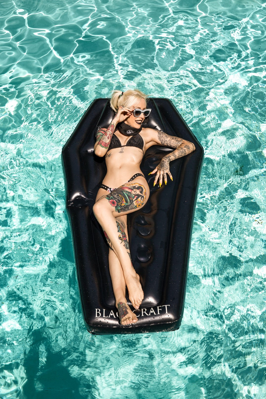 Coffin - Pool Float