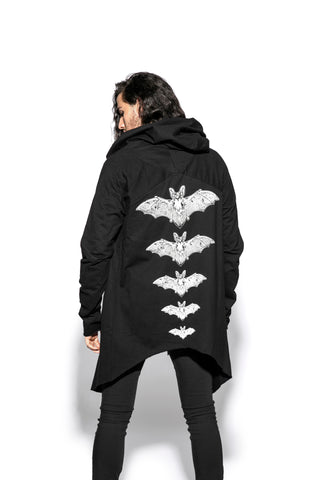 Release The Bats Double Hooded Cloak