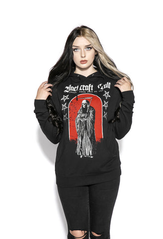 Red Reaper - Hooded Pullover Sweater