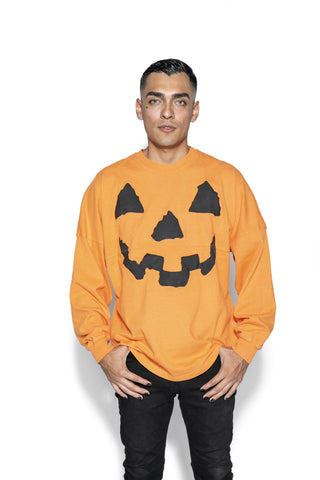 Orange Pumpkin - Unisex Jersey Sweater