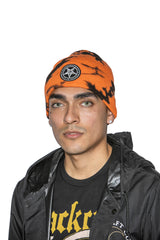 Believe In Yourself - Orange Lightning Dye Beanie