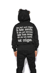 Morals - Hooded Pullover Sweater