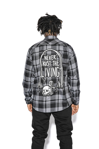 Never Trust The Living - Flannel