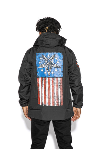 God Free America - Anorak Windbreaker