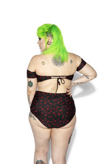 Pentagram Rose High Waist Swim Bottom