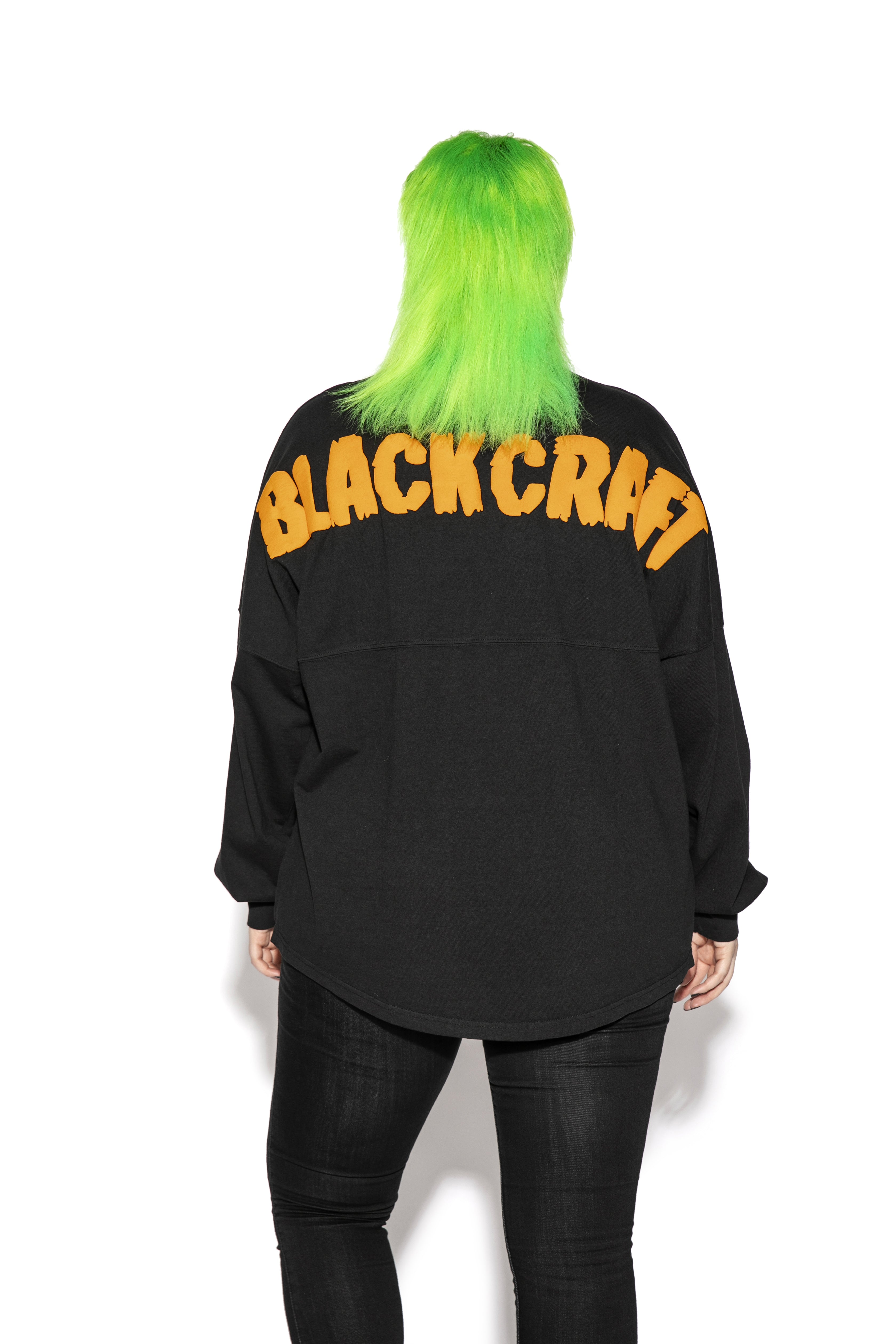 Black Pumpkin - Unisex Jersey Sweater