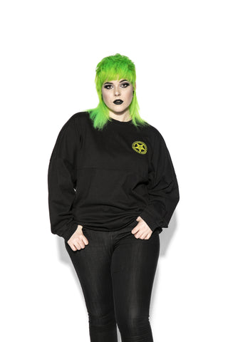 Glow In The Dark Slime - Unisex Jersey Sweater