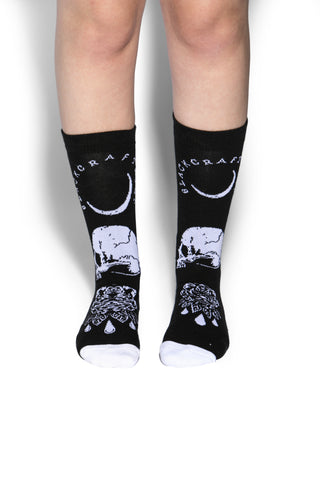 Spirits Of The Dead Tall Socks