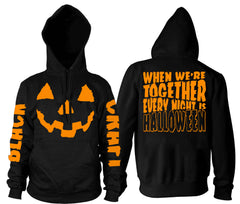 Every Night Is Halloween - Hooded Pullover Sweater