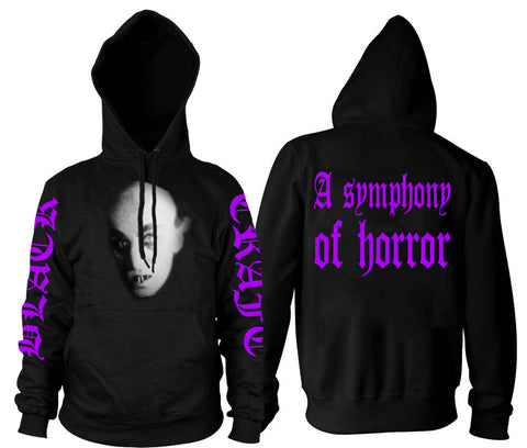 Symphony Of Horror - Hooded Pullover Sweater