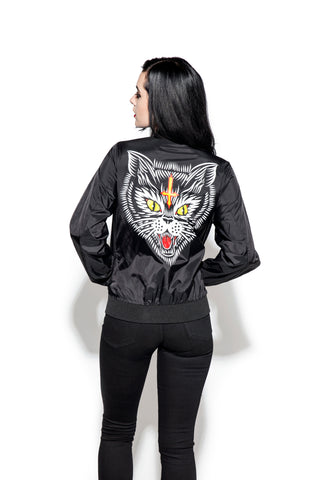 Hell Cat - Unisex Lightweight Bomber