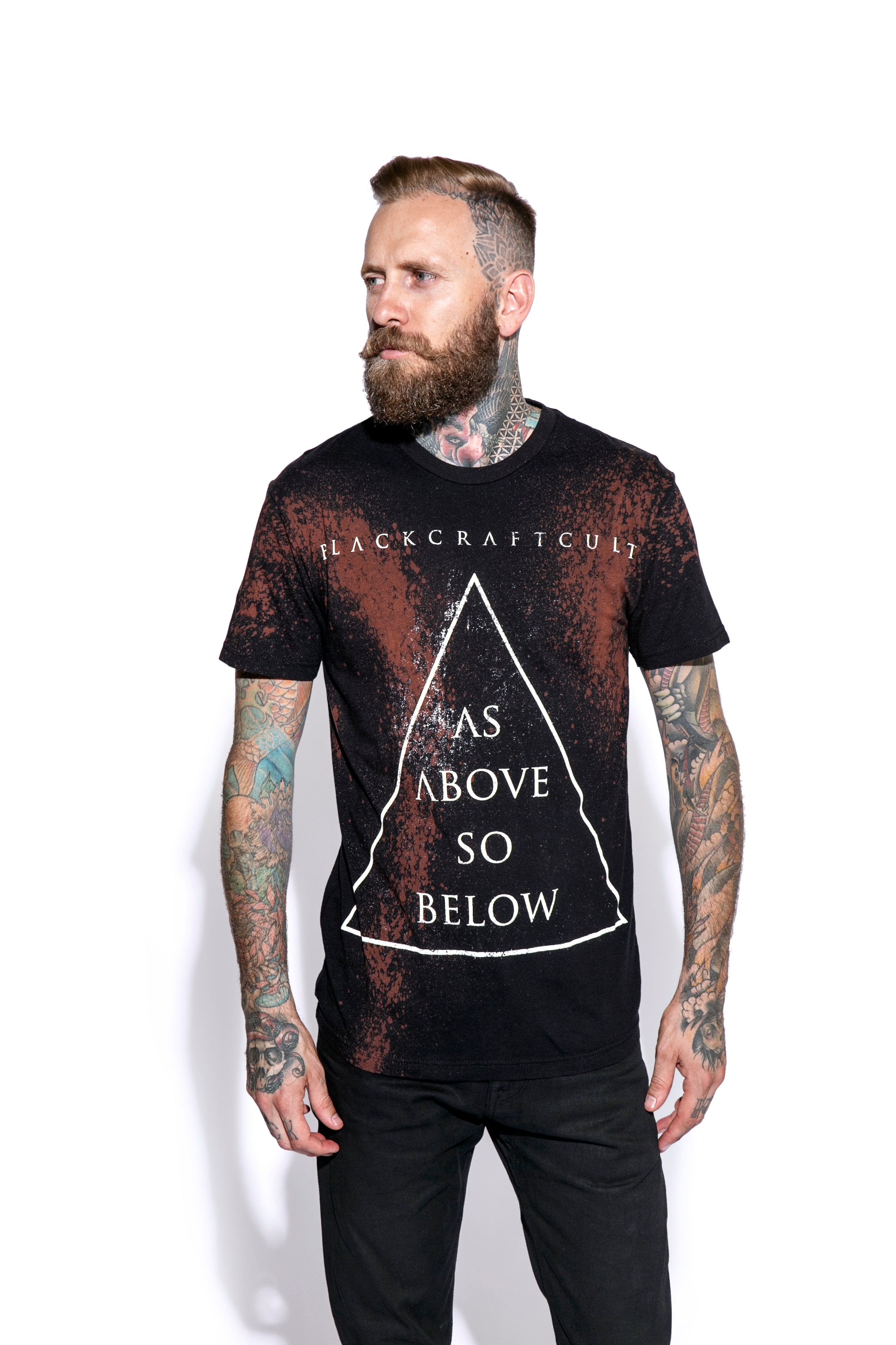 As Above So Below Bleach Wash