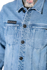 Blue Moon - Unisex Denim Jacket