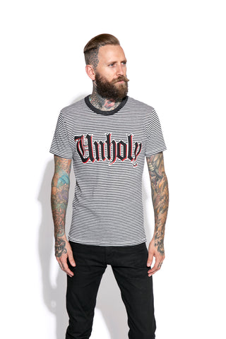 Unholy - Striped Tee