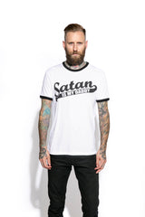 Satan Is My Daddy - Ringer Tee