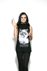 Lucipurr - Sleeveless High Neck