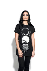 Spirits Of The Dead - Unisex Rolled Cuff Tee