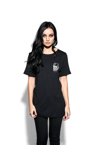 Skullcraft - Raw Neck Premium Tee
