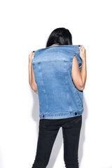 Blue Moon Denim Vest
