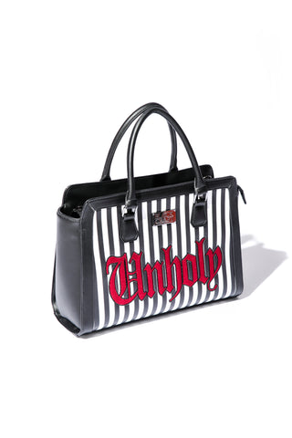 Unholy Stripe - Large Satchel