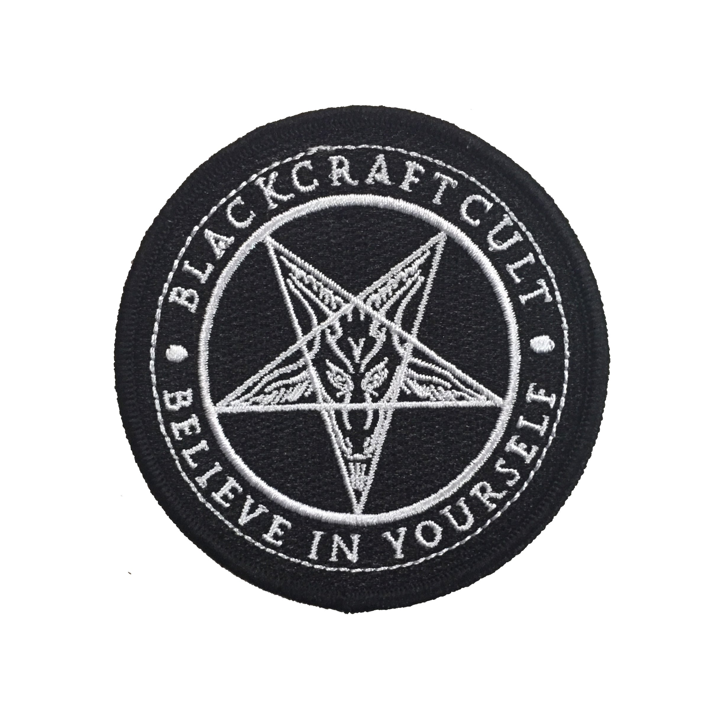 Believe In Yourself Embroidered Patch Blackcraft Cult