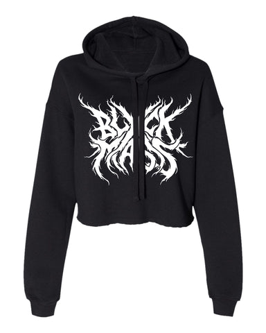 Deal With The Devil - Women's Cropped Hoodie