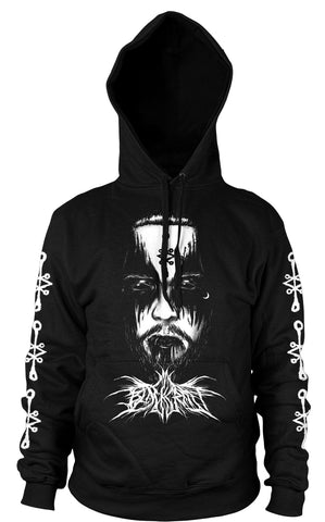 Black Death Collaboration - Hooded Pullover