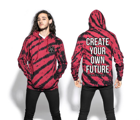 Create Your Own Future - Krueger Dye Hooded Pullover