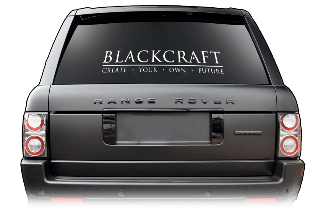 Blackcraft Cult - White Decal