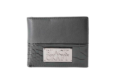 Men's Faux Croc - Slim Wallet