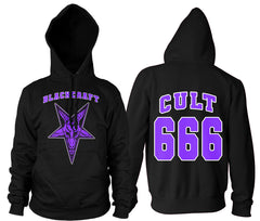 Cult 666 - Hooded Pullover Sweater