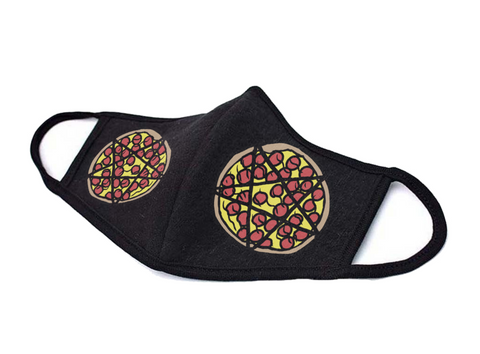 Pizzagram - Face Mask