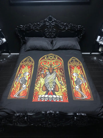 Sunday Sermon - Duvet Cover