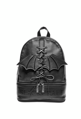 Bat Wing - Lace Up Backpack