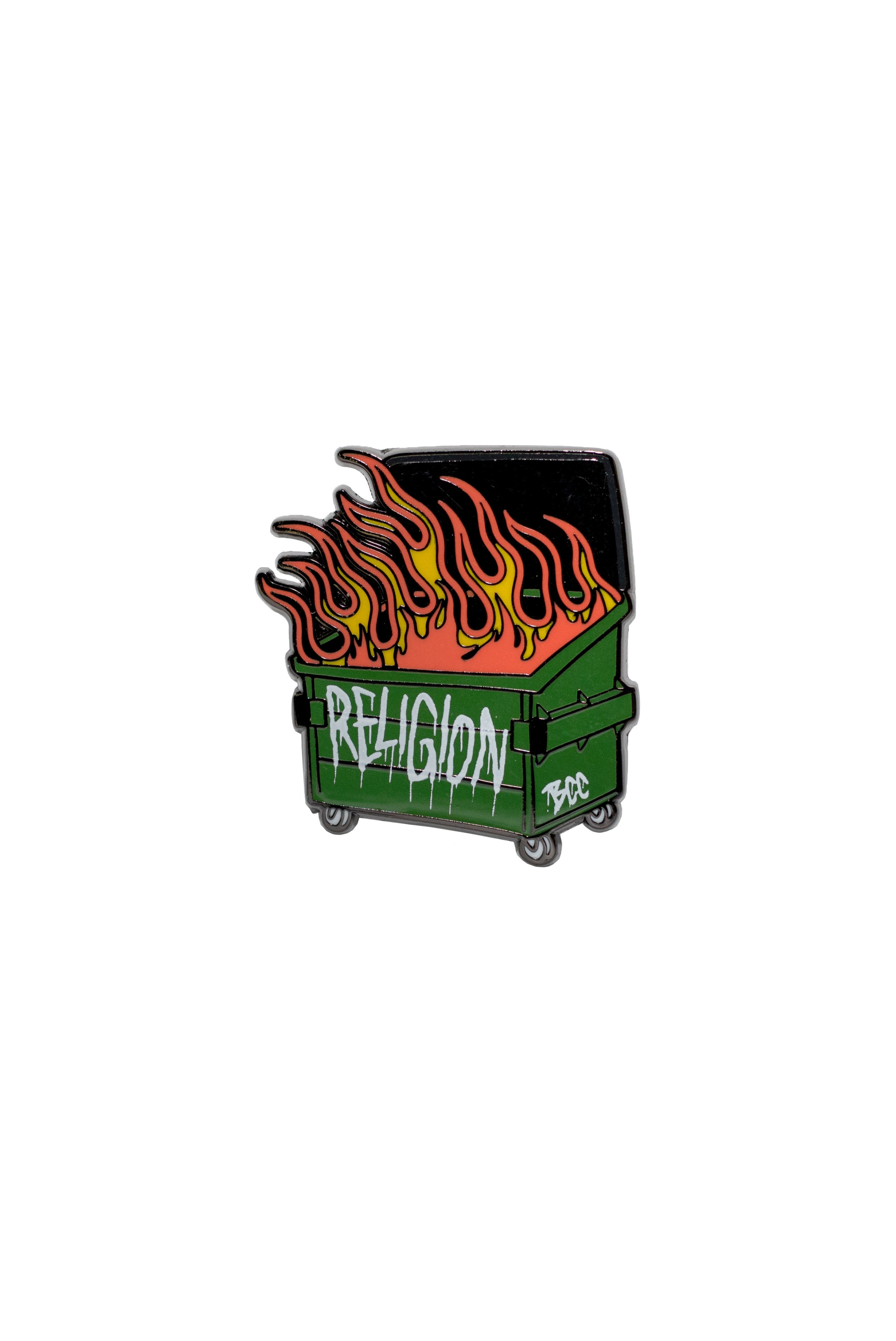 Dumpster Fire - Collectors Pin