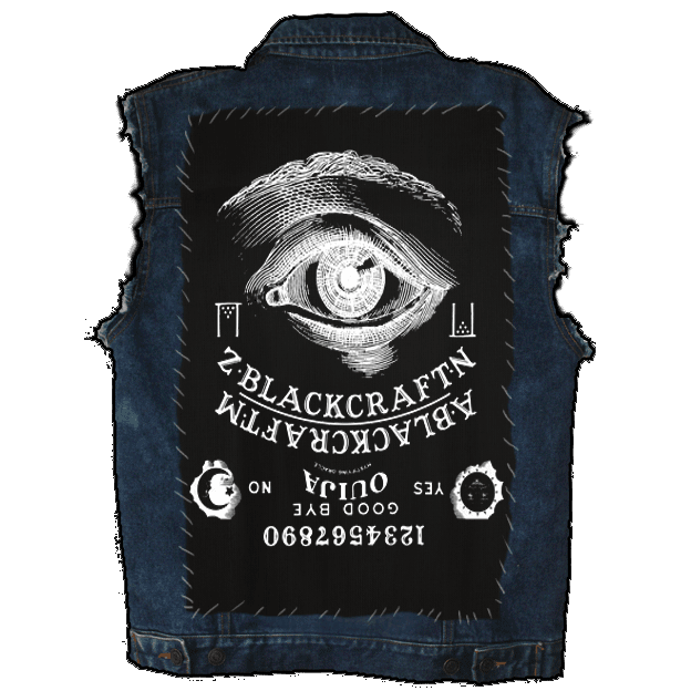 Ouija - Back Patch