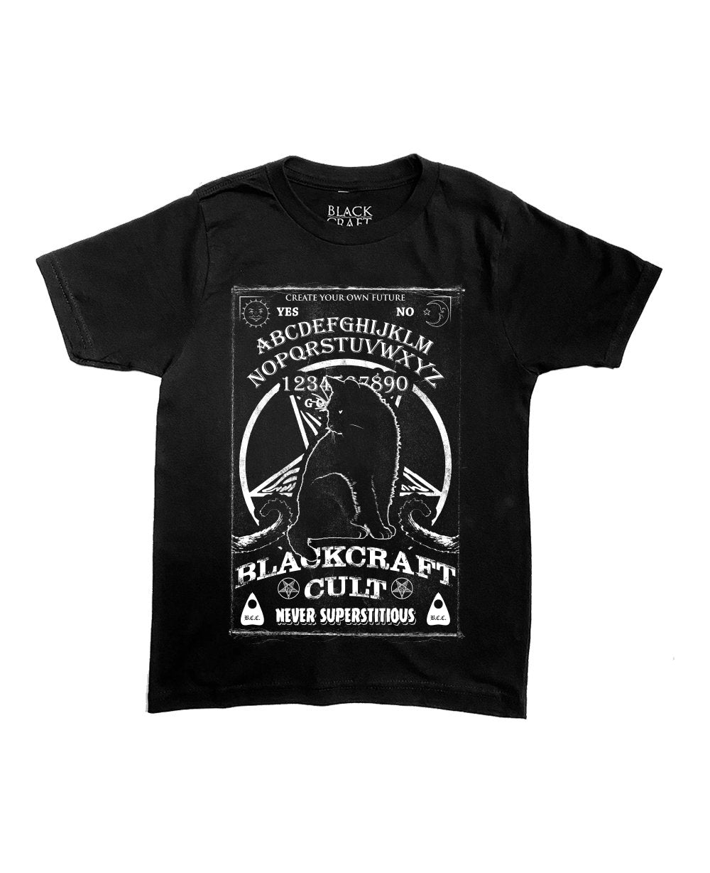 Ouija Cat - Child's Tee