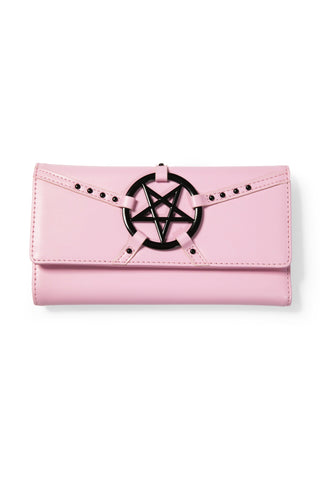 Pentagram Harness - Pink Clutch Wallet