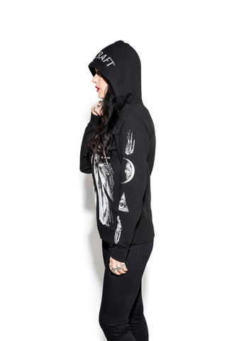 Ram Priest -  Zip up hoodie